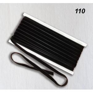 Бархатная лента OZ-IS 110 (черный)