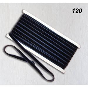 Бархатная лента OZ-IS 120 (синий темный)