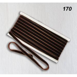 Бархатная лента OZ-IS 170 (коричневый)