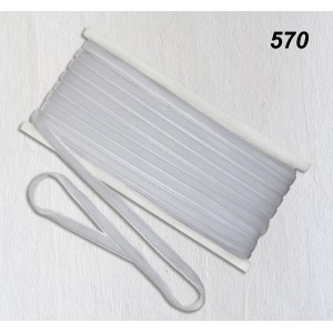 Бархатная лента OZ-IS 570 (белый)