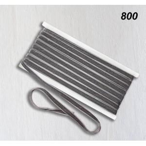 Бархатная лента OZ-IS 800 (серый)