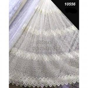 Тюль 10556 KR кордовая вышивка