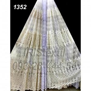 Тюль 301  кордовая вышивка