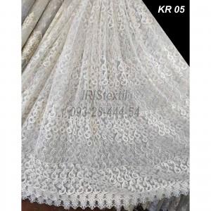 Тюль KR 05  кордовая вышивка