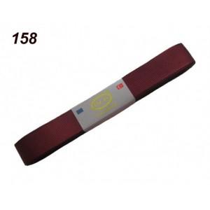 Репсовая лента OZ-IS 158 (бордо)