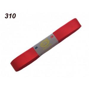 Репсовая лента OZ-IS 310 (красный яркий)