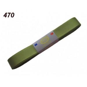 Репсовая лента OZ-IS 470 (зеленый травяной)