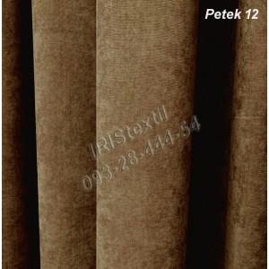 Портьера PETEK #12 микровелюр