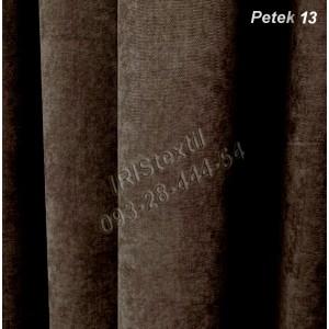 Портьера PETEK #13 микровелюр