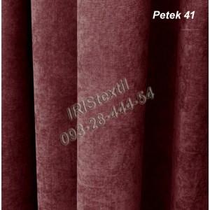Портьера PETEK #41 микровелюр