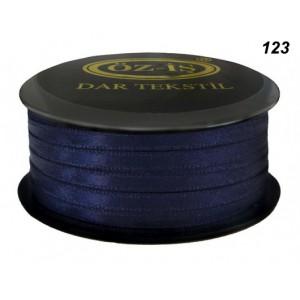 Атласная лента OZ-IS 123 (синий темный)