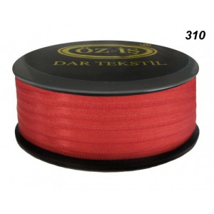 Атласная лента OZ-IS 310 (красный яркий)