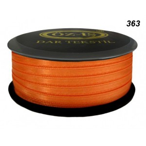 Атласная лента OZ-IS 363 (оранжевый)