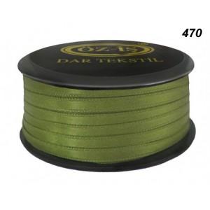 Атласная лента OZ-IS 470 (зеленый травяной)
